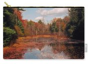 Autumn Reflections Carry-all Pouch by Joann Vitali