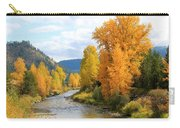 Autumn River In Montana Carry-all Pouch