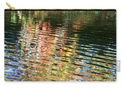 Autumn River Water Reflections  Carry-all Pouch