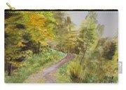 Autumn Riverside Walk Version1 Carry-all Pouch