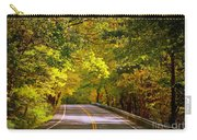 Autumn Road Carry-all Pouch by Carol Groenen