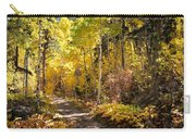 Autumn Road - Tipton Canyon - Casper Mountain - Casper Wyoming Carry-all Pouch
