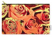 Autumn Roses On Your Wall Carry-all Pouch