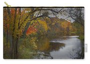 Autumn Scene Of The Flat River Carry-all Pouch