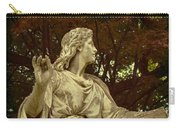 Red Autumn Sculpture Carry-all Pouch