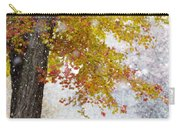 Autumn Snow Carry-all Pouch