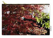 Autumn Snowball Bush Carry-all Pouch