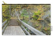 Autumn Steps Near Smalls Falls In Maine Carry-all Pouch