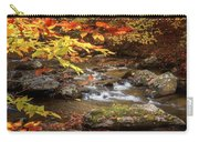 Autumn Stream Square Carry-all Pouch
