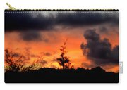 Autumn Sunrise From The Back Deck Carry-all Pouch