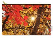 Autumn Sunrise Painterly Carry-all Pouch