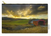 Autumn Sunset Over Meech Creek And Carry-all Pouch