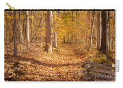 Autumn Trail Carry-all Pouch by Brian Jannsen