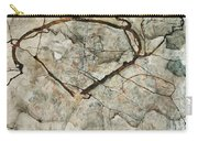 Autumn Tree In Stirred Air. Winter Tree Carry-all Pouch