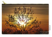 Autumn Tree In The Sunset Carry-all Pouch