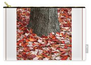 Autumn Tree Poster Carry-all Pouch