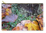 Autumn Tree Trunk  Carry-all Pouch