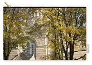 Autumn Trees In A Park Riga Latvia Carry-all Pouch