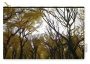 Autumn Trees Panoramic Carry-all Pouch
