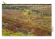 Autumn Tundra With Boreal Forest Carry-all Pouch