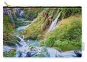Autumn Valley Waterfalls Carry-all Pouch