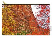 Autumn View Along Zion Canyon Scenic Drive In Zion National Park-utah Carry-all Pouch