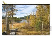 Autumn View At Spooner Carry-all Pouch