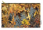 Autumn Vineyard Abstract Carry-all Pouch