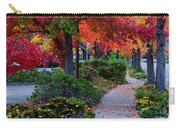 Autumn Walk In Grants Pass Carry-all Pouch