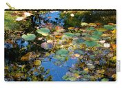 Autumn Water Lily Reflections  Carry-all Pouch