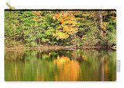 Autumn Watercolor Reflections Carry-all Pouch