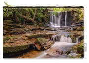 Autumn Waterfall Carry-all Pouch by Adrian Evans