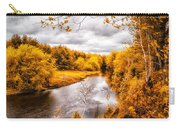Autumn White Mountains Maine Carry-all Pouch