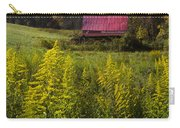 Autumn Wildflowers Carry-all Pouch by Debra and Dave Vanderlaan