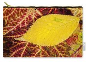 Autumn Yellow Carry-all Pouch