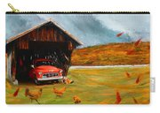 Autumnal Restful View-farm Scene Paintings Carry-all Pouch