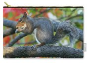 Autumnal Squirrel Carry-all Pouch