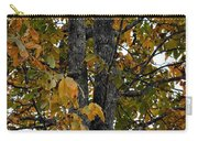 Autumn's Golden Hickory Tree Carry-all Pouch