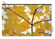 Autumn's Golden Leaves Carry-all Pouch by Jennie Marie Schell