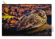 Autumns Sleepy Duck Carry-all Pouch