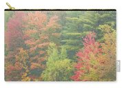 Autumntrees And Fog Carry-all Pouch