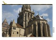 Autun Cathedral View Burgundy Carry-all Pouch