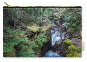 Avalanche Creek In Cedar Forest Carry-all Pouch