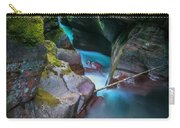 Avalanche Gorge Glacier National Park Painted   Carry-all Pouch
