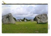 Avebury's Southern Entrance Stones Carry-all Pouch