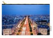 Avenue Des Champs Elysees In Paris Carry-all Pouch