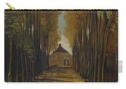 Avenue Of Poplars In Autumn Carry-all Pouch