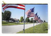 Avenue Of The Flags Carry-all Pouch