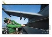 Aviation Boatswains Mate Ducks As An Carry-all Pouch