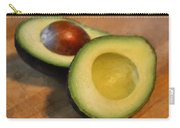 Avocado Carry-all Pouch by Michelle Calkins